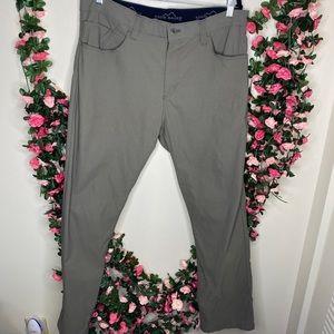 🌹Eddie Bauer Tan Khaki Hiking Outdoor Pants Mens Casual 36x32